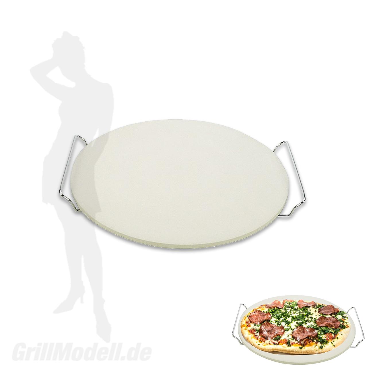 Pizzastein für Edelstahlgrill Holzkohlegrill