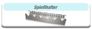Edelstahlgrill-Holzkohlegrill-Zubehör-Spiesshalter