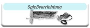 Edelstahlgrill-Holzkohlegrill-Zubehör-Spiessvorrichtung