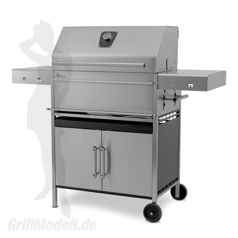 Edelstahlgrill - Holzkohlegrill - EDELstar XL Komplett - Bausatz