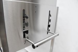 Edelstahlgrill - Holzkohlegrill - EDELstar L Basis - Bausatz