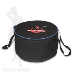 Holzkohle-Tischgrill Komplett-Set - TULSA Anthrazit