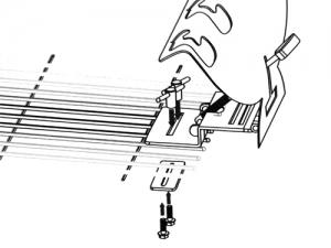 Steckerlfisch-Grillhalter aus Edelstahl