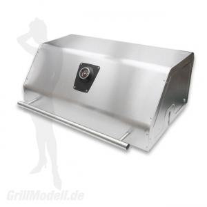 Grillhaube für EDELstar XL Grill (mit Thermometer und Warmhalterost)