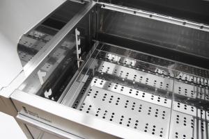 Edelstahlgrill - Holzkohlegrill - EDELstar XL Basis - Bausatz