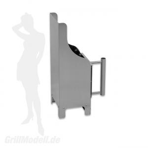 Grill-Kohleanzünder - Anzündkamin aus Edelstahl - Bausatz